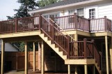Deck in Arlington Virginia
