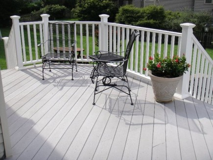 Deck in Fairfax Virginia
