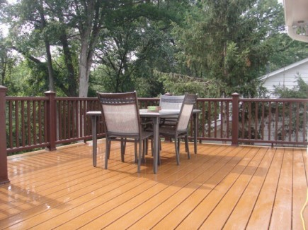 Deck in Fairfax VA