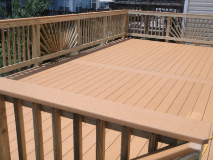 Large Deck in Chantilly Virginia