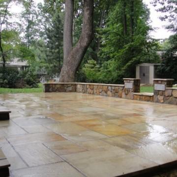 Slate patios